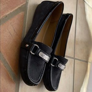 Coach Black Felicia Loafers